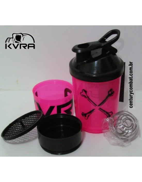 Coqueteleira Shaker KVRA Rosa Preta