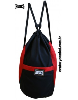 Sport Bag Rudel Preta Vermelha
