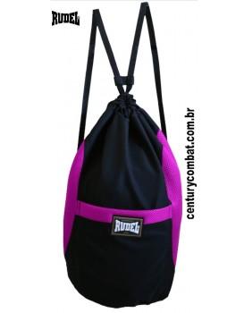 Sport Bag Rudel Preta Rosa