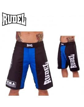 Bermuda Academy Rudel MMA Azul Preta