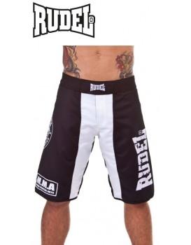Bermuda Academy Rudel MMA Branca Preta