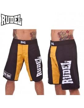 Bermuda Academy Rudel Muay Thai Preta Amarela