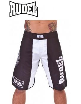 Bermuda Academy Rudel Muay Thai Preta Branca
