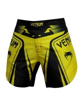 Bermuda Venum Fight Shadow Pro Soul Preto Amarelo
