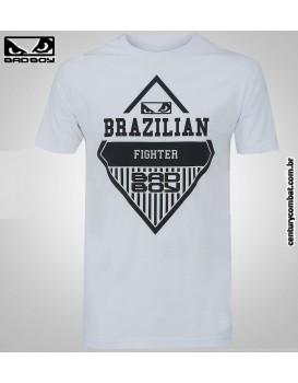 Camiseta Bad Boy Losango Branca