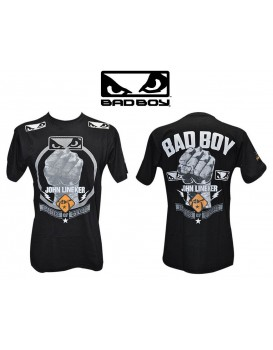 Camiseta Bad Boy Oficial John Lineker Preta