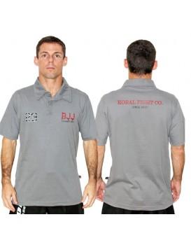 Camisa Polo Koral Champions 23 Cinza