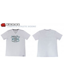 Camiseta Koral Athletic Boxing Branca