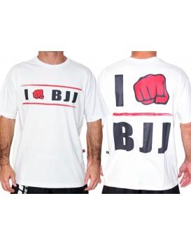 Camiseta Koral I Am BJJ Branca