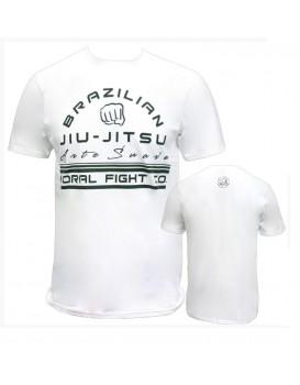 Camiseta Koral Arte Suave Branca