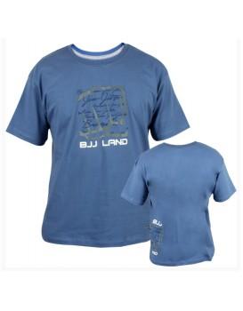 Camiseta Koral BJJ Land 2 Azul Jeans