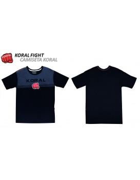 Camiseta Koral Cinza Preta
