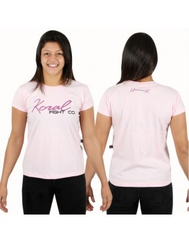Camiseta Koral Fight Co. Harmonik Rosa