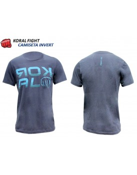 Camiseta Koral Invert Marinho