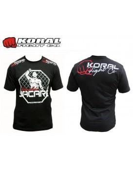 Camiseta Koral Ronaldo Jacaré Cage Preta