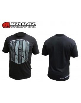 Camiseta Koral Jacaré Team Preta