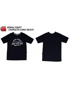 Camiseta Koral Long Beach Preta
