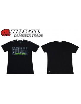 Camiseta Koral Trade Preta