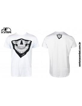 Camiseta Kvra Bandana Branca