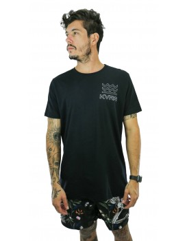 Camiseta Kvra Masculina Arrow Preto