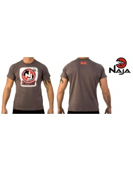 Camiseta Naja Brazilian Fighters Chumbo