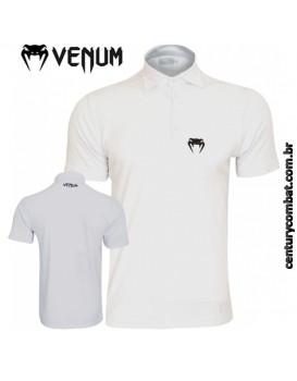 Camisa Polo Venum Logo Branca