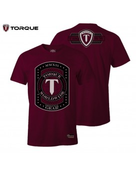 Camiseta Torque World Wide Vinho