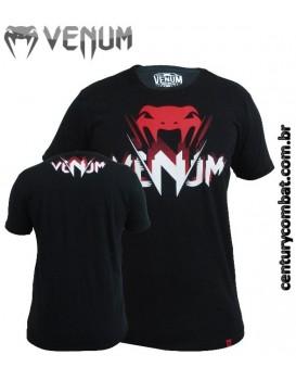 Camiseta Venum V Ray Preta
