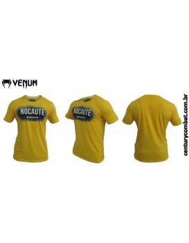 Camiseta Venum MMA Nocaute Amarela