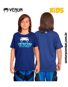 Camiseta Venum Absoluto Infantil Azul