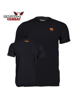 Camiseta Venum Body Action 2.0 Preto Laranja