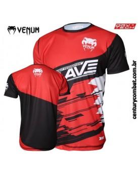 Camiseta Venum Brave Vermelha