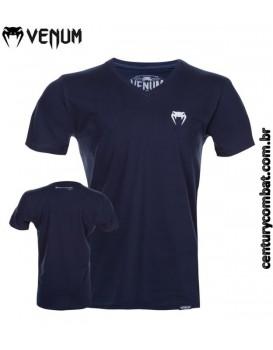 Camiseta Venum Classic V Azul Escuro