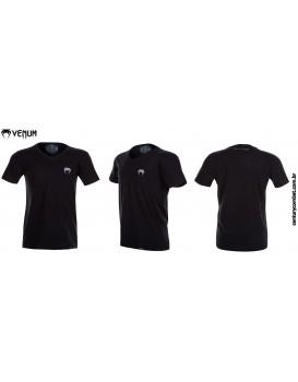 Camiseta Venum Classic V Preta Branca