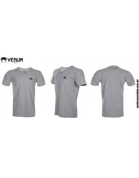 Camiseta Venum Classic V Cinza Preta