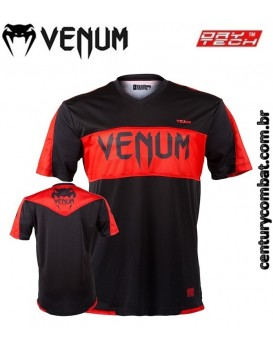Camiseta Venum Competitor Dry Tech Red Devil