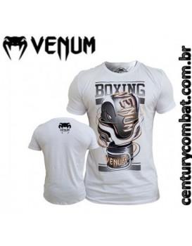 Camiseta Venum Cutting Edge Branca