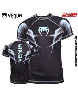 Camiseta Venum Explosion Preta Azul
