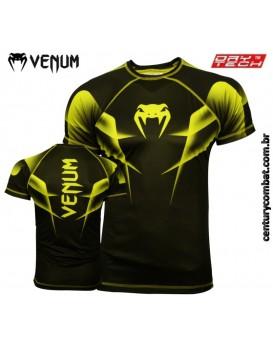 Camiseta Venum Explosion Preta Verde