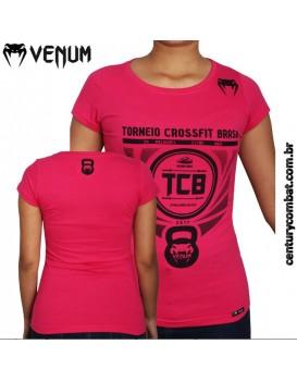 Camiseta Venum Feminina TCB Rosa