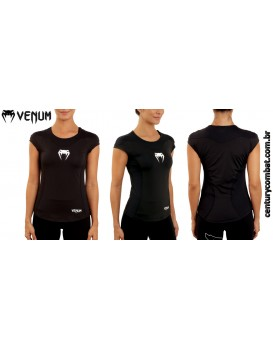 Camiseta Venum Fúria Performance Preta