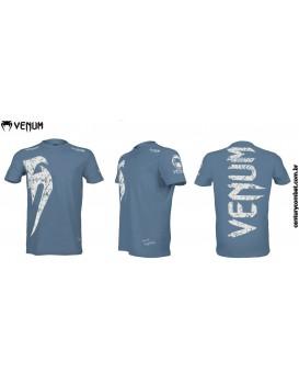 Camiseta Venum Giant Azul Branco