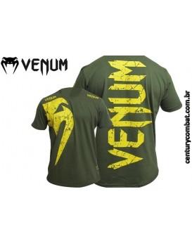 Camiseta Venum Giant Verde Amarela