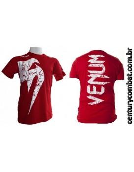 Camiseta Venum Giant Vermelha
