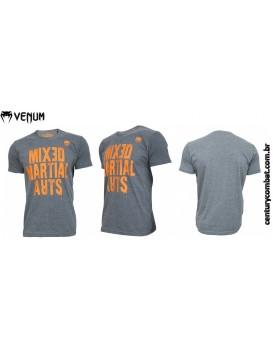 Camiseta Venum Homme MMA GRIS Cinza