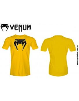 Camiseta Venum Interference Amarela