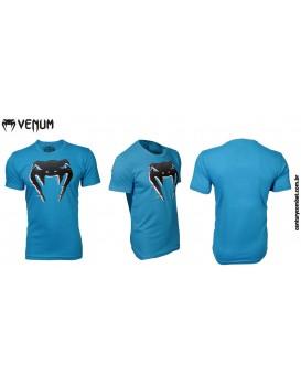 Camiseta Venum Interference Azul Claro