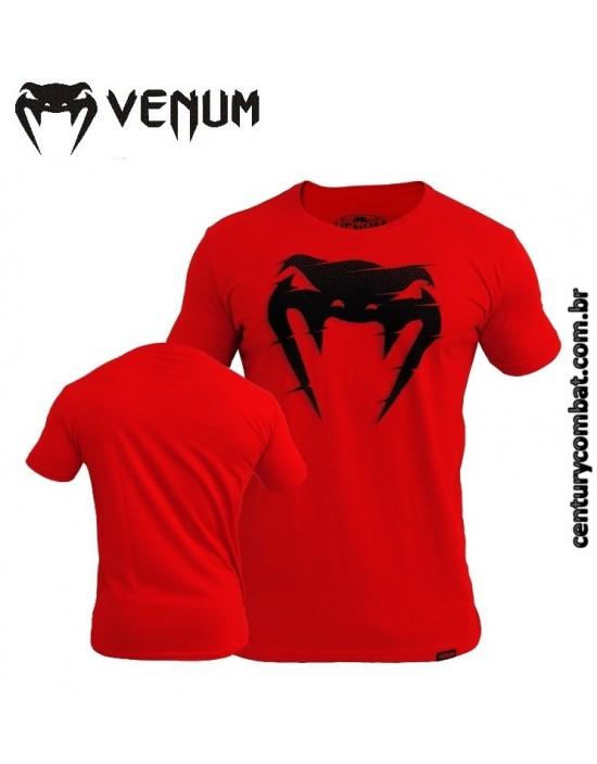 Camiseta Venum Interference Vermelha