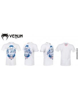 Camiseta Venum Jiu Jitsu Master Branca