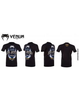 Camiseta Venum Jiu Jitsu Master Preta